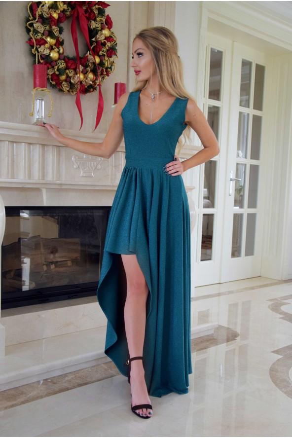 Sukienka MARTYNA - zielona